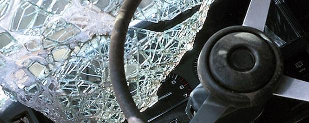Житель Нижнего Новгорода «забодал» автобус