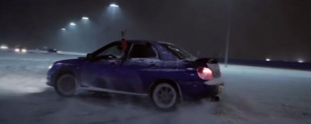 Фанаты Subaru устроили в Нижнем Новгороде дрифт-шоу