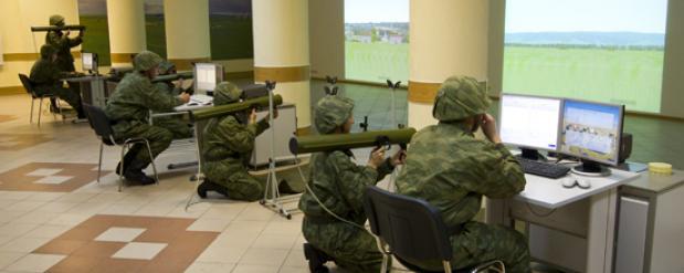 Полк РХБЗ в Нижнем Новгороде получил симуляторы огнеметов