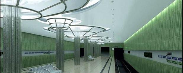 В Нижнем Новгороде начинают строительство станции метро «Стрелка»