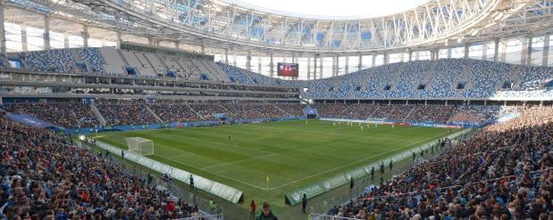 18 тысяч фанатов посетили Нижний Новгород