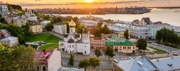 Нижний Новгород приобрел популярность среди туристов